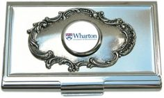 Wharton School of Business:  Business Card Holder Why businesses should invest in custom personalized gifts. www.classiclegacy.com