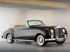 1953 Rolls Royce Silver Cloud (series I think) Cabriolet