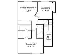 The Marlowe second floor | Phillippe Builders