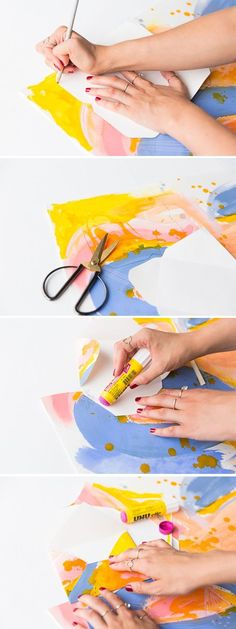 DIY envelopes by Paper & Stitch