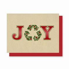 Recycle your Christmas Cards this year! These cards are plantable.  Each card is embedded with wildflower, herbs or vegetables seeds.  Your friends and family will enjoy watching their flowers grow and will remember you! www.myenchantedgifts.labellabaskets.com