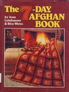 7 Day Afghans - Nicoleta Danaila - Álbuns da web do Picasa Crochet Fall, Crochet Cross, Crochet Chart, Irish Crochet, Knit Crochet, Knitted Afghans, Crocheted Blankets, Crotchet Patterns, Sewing Patterns