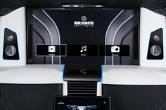 Brabus consolidates technology in its latest Business Lounge van Benz Sprinter, Private Jet, Lounge, Van, Technology, Business, Airport Lounge, Tech, Drawing Rooms