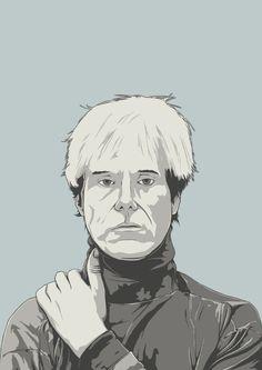 Andy Warhol Event Flyer Invitation Design (No Typography)
