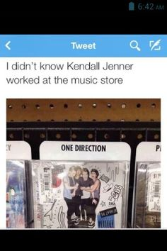 this>>> wow just speechless how can you say 1D is 5sos they are both amazing boys and I love their songs but they are totally a different name..... and come on it says it on the cover of the cd!