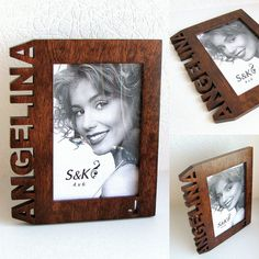 Cool Picture Frames, Wooden Picture Frames, Frames On Wall, Owl Lamp, Photo Frame Design, Laser Cutter Ideas, Wooden Pencils, Wood Burning Art, Diy Crafts For Gifts