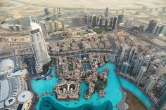 dubai tallest building view from the top - Google Search
