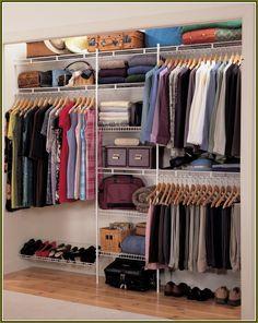 Rubbermaid Closet Organizer Kit