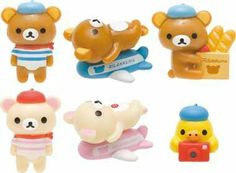 rilakkuma figure   Christmas Gift Idea: Rilakkuma Bath Bomb with Surprise Figures - Cute ...