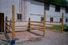Outdoor Horse Wash Stalls | The care of our horses is extremely important to us. We run our ...