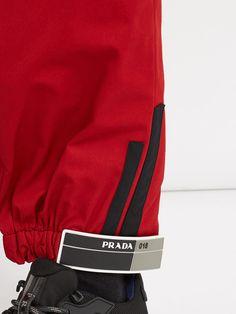Slim-leg Velcro-cuff track pants | Prada | MATCHESFASHION.COM
