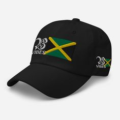 Back A Yard Vibes Dad hats with embroidered logo and Jamaican Flag Dad Hats, Casual Wear, Looks Great, How To Look Better, Baseball Hats, Dads, Flag, Stylish, How To Wear