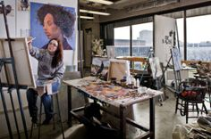 Painting Studio (courtesy of CCS)
