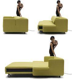 Sofa bed. #minimalist #design