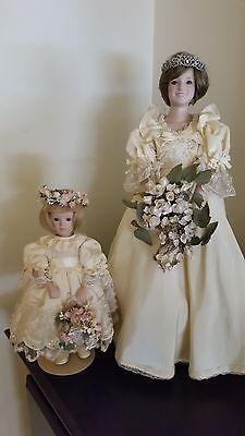 Danbury Mint Princess Diana\'s Flower Girl with Box | Danbury mint ...