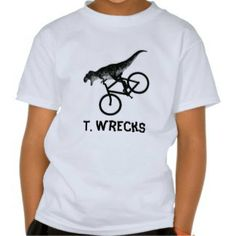T. Wrecks Kids' Dinosaur Tee Shirt