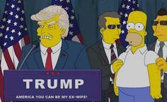 """Blog de palma2mex : Ganó Trump y la profecía se cumplió """"Los Simpson"""" ..."""