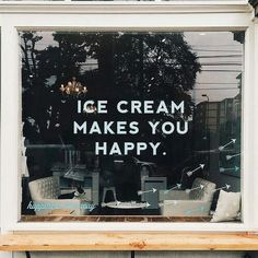 ice cream, happy, and quote image