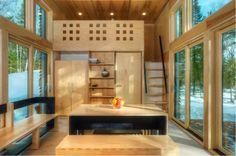 EDGE interior //tiny house