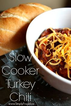 Just in case you have a bit of leftover turkey from the weekend :), I thought I would share this delicious slow cooker turkey chili recipe with you! While it's meant for ground turkey, I'm pretty confident that leftovers from your turkey dinner will...