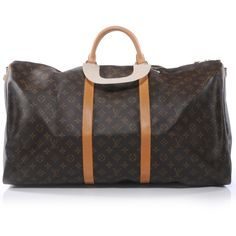 Fashionphile - LOUIS VUITTON Monogram Keepall Bandouliere 60 #bags #fashion