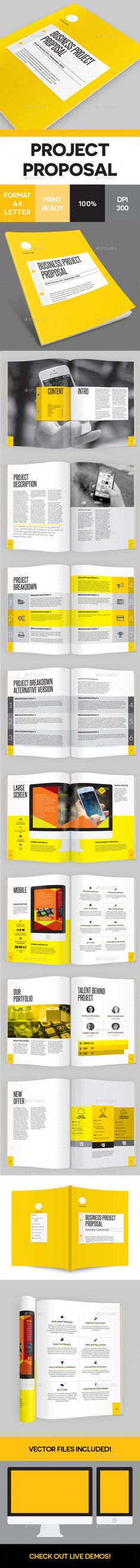 Identity Proposal Template Proposal templates, Font logo and Fonts - advertising proposal template