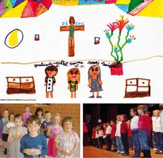 La Salésienne - Veyrier - Ginevra - Svizzera. The children's drawings of the salesian schools around the world.