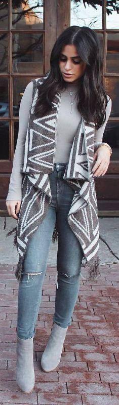 Sweater Vest /  Fashion ByNicole Isaacs