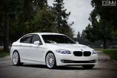BMW 535i - yes please! loved test driving this! Too bad its too small for a mom car =( bummer!!!!!!!