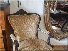 Barokk asztal, antik bútor - Ildáre faáruház Fa, Wingback Chair, Accent Chairs, Modern, Furniture, Home Decor, Upholstered Chairs, Trendy Tree, Decoration Home