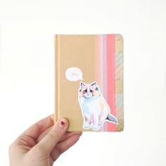 Revamp your obring notebooks and other stationery with this super easy tutorial!