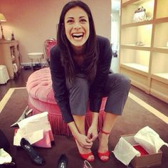 Stacy London. I really admire her. I would love to meet her some day. But hopefully not because someone has nominated me for her show.