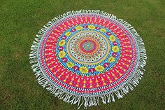 Boho Gypsy, Hippie Boho, Beach Towel, Beach Mat, Indian Tapestry, Hippy, Tassels, Mandala, Outdoor Blanket