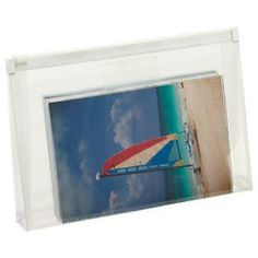 The Container Store > Clear Zippered Envelope