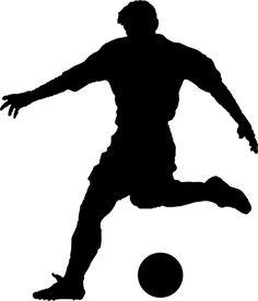 Outside Curve Soccer Stencil! Soccer Birthday Parties, My Son Birthday, Birthday Party Themes, Stencil Templates, Stencil Patterns, Stencils, Soccer Silhouette, Silhouette Clip Art, Silhouette Portrait Machine