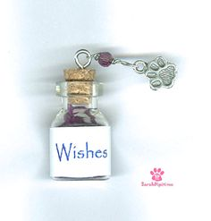 Pawsitive Wishes In a Bottle Hemp Cord Wish Bracelet,Sterling Silver,Pet Awareness Jewelry,Wish Jewelry ,Pet Rescue Jewelry, Pet Lover Gift by SarahDipitiToo on Etsy