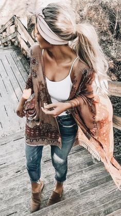 35 Stylish Outfits for Summer To Copy Right Now Summer Fashion Trends Style Estate 09 Mode Hippie, Mode Boho, Mode Outfits, Stylish Outfits, Boho Chic Outfits Summer, Style Summer, Hippie Chic Outfits, Casual Summer Outfits Women, Outfits For Spring