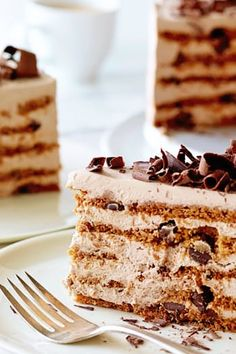 Mocha Chocolate Icebox Cake - The Best Ina Garten Dessert Recipes Ever  via @PureWow