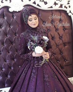 2018 Hijab Pleated Evening Dress Models, www.tesetturelbis … , is # pınarşems the the it is # Tesettür # tesettürgelinlik # Tesettürelbis to # Tesettürabi to the to Muslimah Wedding Dress, Hijab Wedding Dresses, Pakistani Bridal Dresses, Hijab Evening Dress, Evening Dresses, Muslim Women Fashion, Fantasy Gowns, Hijab Fashion, Blog