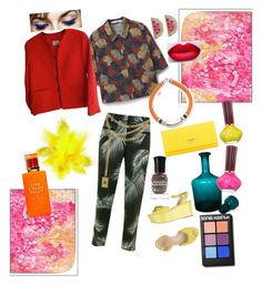 Live colorful life by monikaaens on Polyvore featuring polyvore fashion style MANGO Bogner Mint Velvet Prada Lizzie Fortunato Betsey Johnson Moschino Sonia Kashuk Kate Spade Deborah Lippmann Paul & Joe Beaute clothing