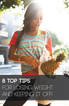 Are you sick of trying diet after diet and seeing the weight pile straight back on? These eight simple tips will guarantee the next time you lose weight it stays off for good!