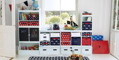 Cool Kids Playroom Storage Ideas Cool Playroom Storage Ideas Betsy Manning in Home Interior Design Reference Kids Playroom Storage, Playroom Shelves, Small Playroom, Playroom Organization, Playroom Ideas, Organization Ideas, Corner Storage, Storage Sets, Ikea Storage