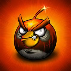 Artist Creates Drawings of Angry Birds In Pain :)