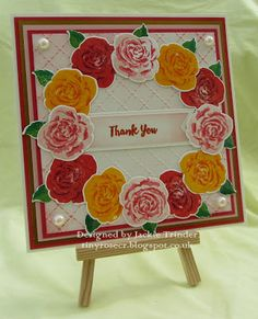 Tinyrose's Craft Room: Free Altenew Build a Rose Stamp