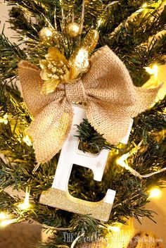 31 Homemade Christmas Ornaments - The Kim Six Fix