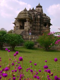 "Khajuraho, India - the ""love"" temple LOVE the architecture to begin with,"