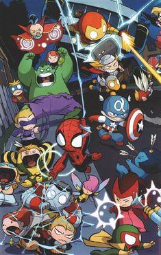 Get Inspired For Marvel Wallpaper For Iphone X images Baby Avengers, Marvel Avengers, Baby Marvel, Chibi Marvel, Avengers Cartoon, Marvel Cartoons, Marvel Art, Marvel Comics, Marvel Animation