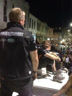 Race2Recovery Team at Dakar 2014