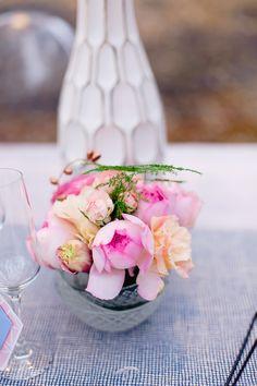 Blush pink peony wed