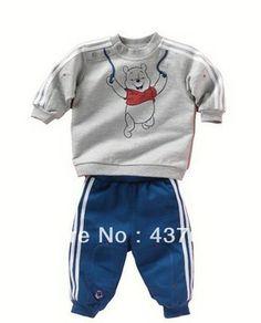 Cotton Children cartoon Baby Boys clothes set bear t shirt+Pants Baby Boy Outfits, Sport Outfits, Kids Outfits, Casual Outfits, Baby Boy Clothing Sets, Kids Clothing, Sport Clothing, Baby Boy Suit, Bear T Shirt